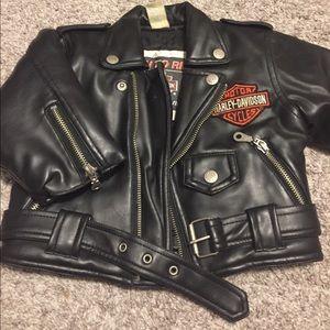 Children's Harley-Davidson biker jacket